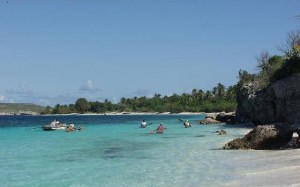 Motion - Pêcheurs sur la plage du Môle Saint Nicolas