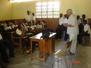 Motion - Rencontre au collège du Môle Saint Nicolas